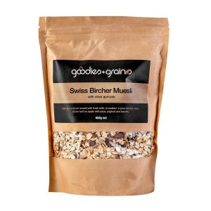 GG Swiss Bircher Muesli with Dried Apricots 650g