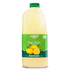 Nippys Fruit Juice Fresh Tangy Lemon 2lt