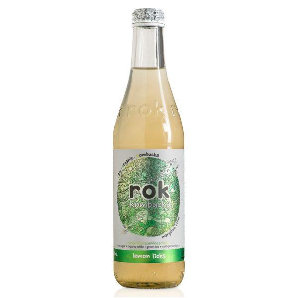 ROK Kombucha Lemon Licks 750ml
