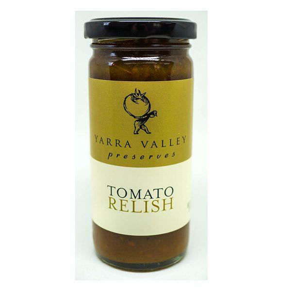 YVGF Tomato Relish 250g