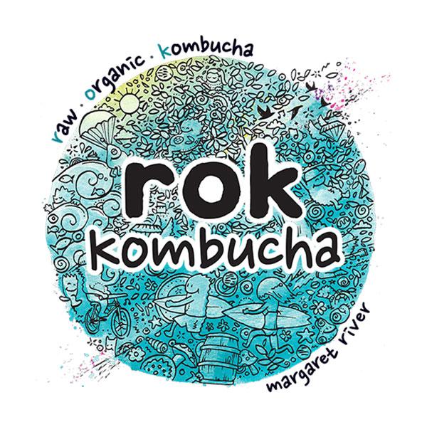 Rok Kombucha logo