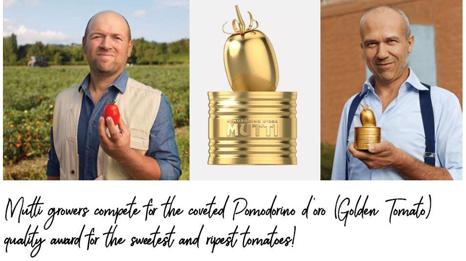 Mutti golden tomato