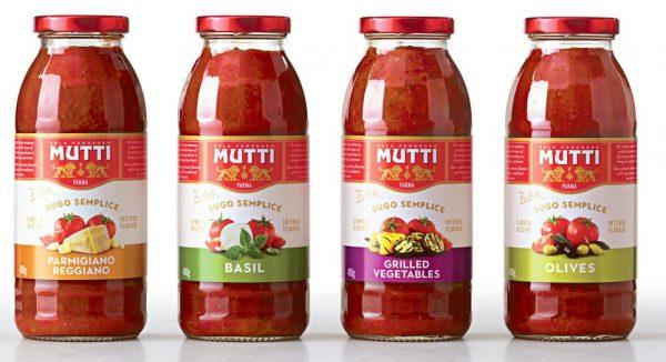 mutti sauces